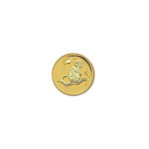 1/2 uncji Australijska Seria Księżycowa Rok Małpy 2016 - Złota Moneta - Dostawa Natychmiastowa - produkt z kategorii- Numizmatyka, filatelistyka