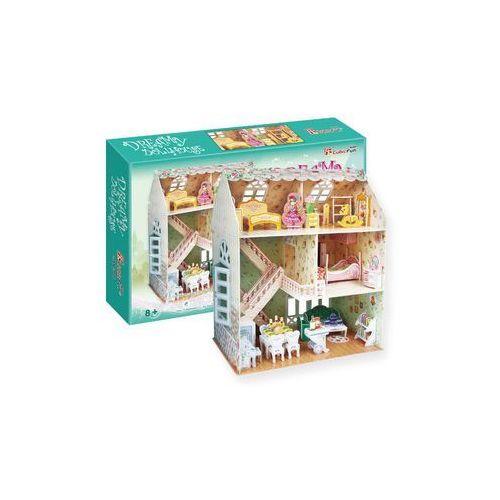 Puzzle 3d dreamy dollhouse domek dla lalek marki Cubicfun
