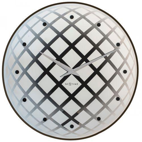 Zegar Ścienny 8185 ZI Pendula Round 43 cm Nextime, kolor szary