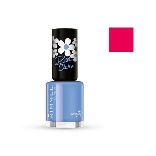60 Seconds Super Shine by Rita Ora lakier do paznokci 300 Glaston-Berry 8ml - Rimmel (3614220616827)