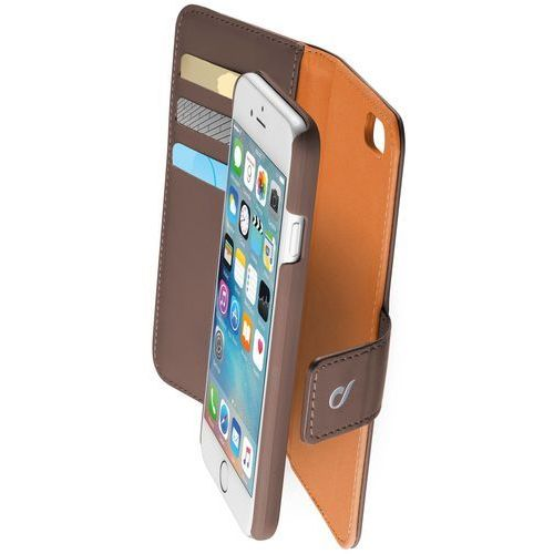 Cellular line Etui combo do apple iphone 6/6s brązowy + darmowy transport! (8018080250774)