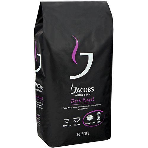 Jacobs Dark Roast Kawa ziarnista palona 500 g (7622210392138)