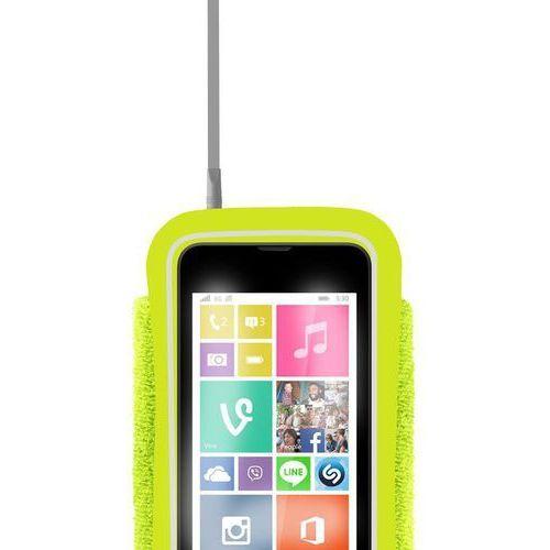 PURO Running Band - Uniwersalna frotka do biegania do smartfonów max 4.3 + key pocket (limonkowy) Odbiór osobisty w ponad 40 miastach lub kurier 24h (8033830135248)