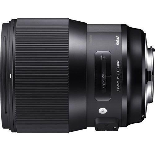 Sigma Obiektyw 135mm f/1.8a dg hsm canon (0085126240547)