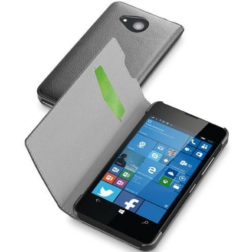 Cellular line Etui book essential do microsoft lumia 550 czarny (8018080256639)