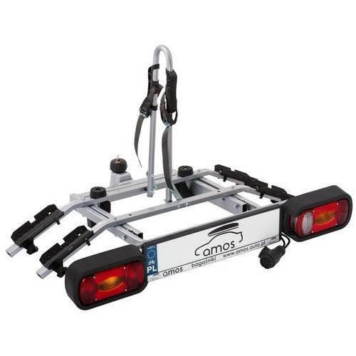 Platforma bagażnik na 2 rowery rowerowy na hak Tytan Amos 13PIN (5902768727944)