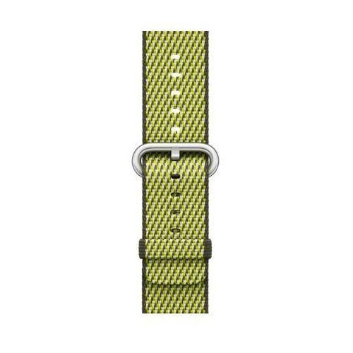 Pasek do smartwatcha APPLE Watch z plecionego nylonu w kolorze ciemnej oliwki (w kratkę) do koperty 38 mm MQVF2ZM/A (0190198580863)