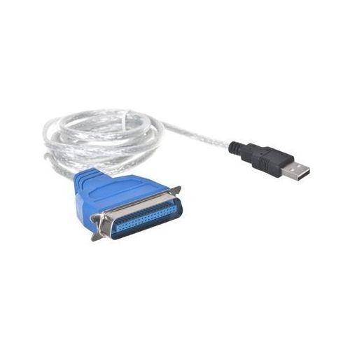 LANBERG ADAPTER USB -> LPT 1.8M BIAŁY AD-0028-W (5901969409963)