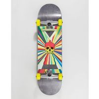 Globe Skull Print Skateboard - 8.25 Inches - Black