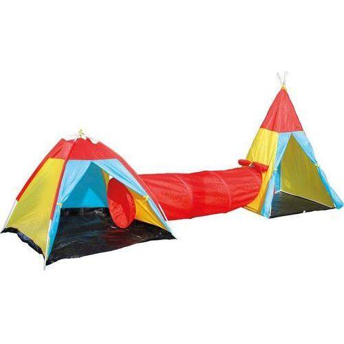 Small foot design Namiot z połączeniem tunelowym dla dzieci