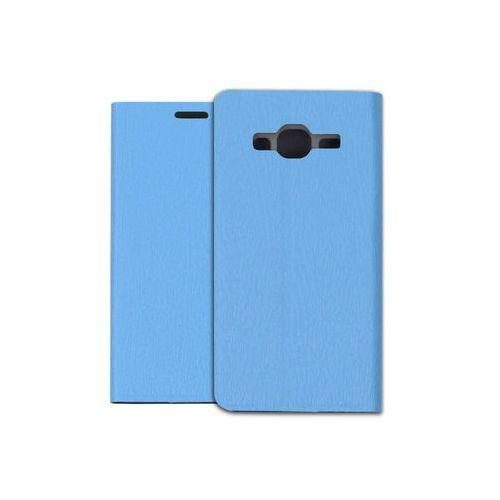 Samsung Galaxy J3 (2016) - pokrowiec na telefon - niebieski, kolor niebieski