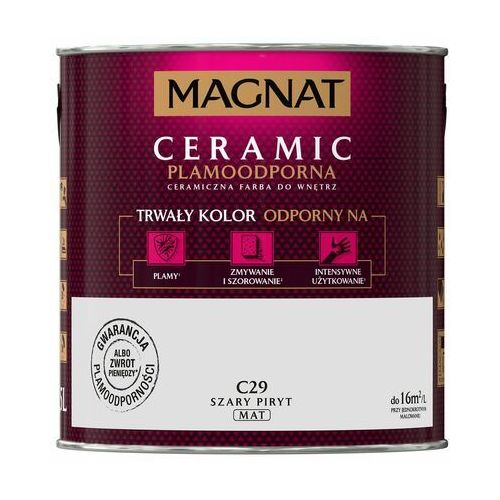 Farba Magnat Ceramic szary piryt 2,5 l (5903973109051)