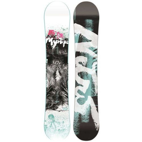 Potestowa deska snowboardowa mystique 155cm marki Nitro