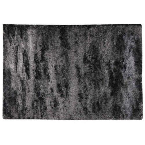 Dywan shaggy silky antracytowy - poliester - 140 * 200 cm marki Vente-unique