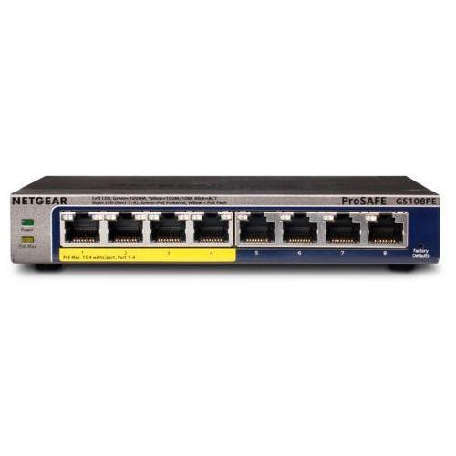 Przełącznik poe  gs108pe marki Netgear