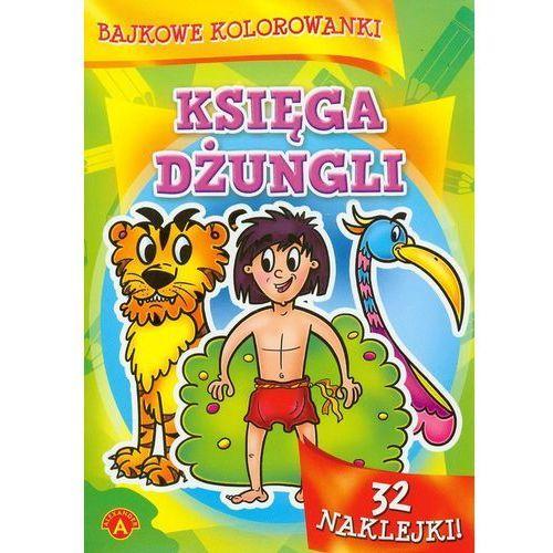 Alexander Bajkowe kolorowanki księga dżungli - (9788363659738)