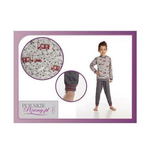 Piżama dziecięca ALEX: szary, kolor szary