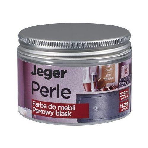 Farba do mebli PERLE 125 ml Diament Perłowy blask JEGER, kolor beżowy