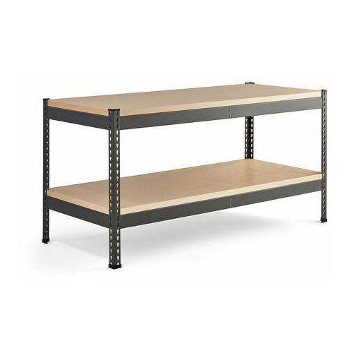 Aj produkty Stół warsztatowy combo, utwardzana płyta, półka dolna, 1840x775x1530 mm