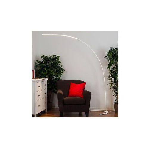 Minimalistyczna lampa stojąca LED DANUA, biała (4251096501872)