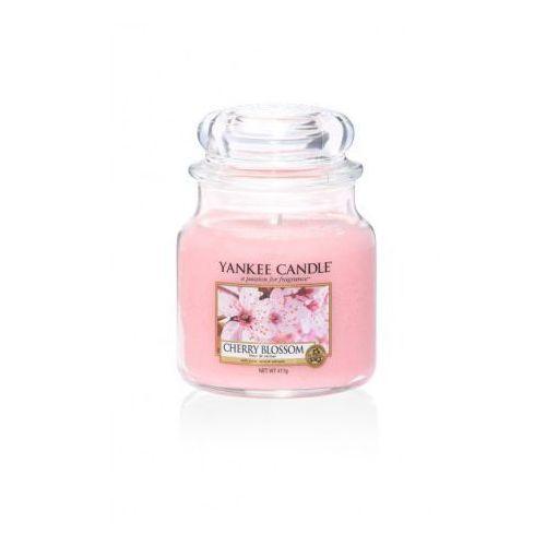 Yankee home Świeca yankee słoik średni cherry blossom - ysscb2