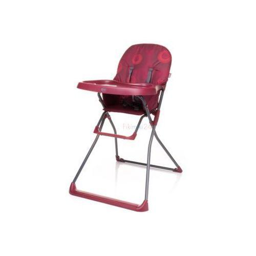 4Baby Krzesełko do karmienia FLOWER czerwone