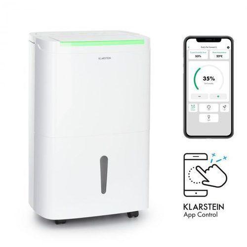 Klarstein dryfy connect 40, osuszacz powietrza, wi-fi, kompresja, 40l/24 h, 35-45m2, biały (4060656161193)