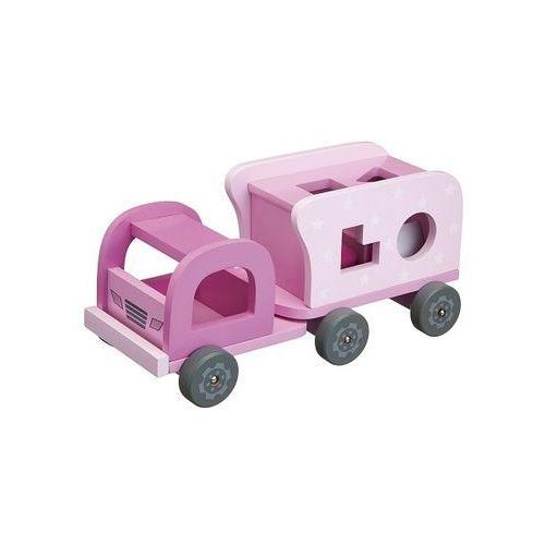 Kids concept Sorter - różowy samochód kc412231 (7340028714231)
