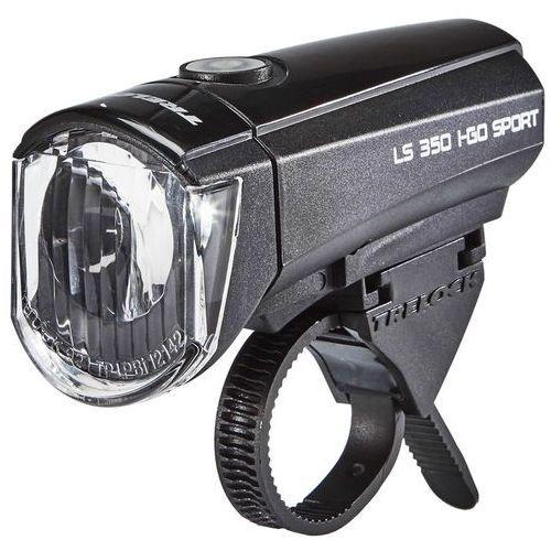 Trelock ls 350 i-go przednia lampa, czarny 2017 oświetlenie rowerowe - zestawy