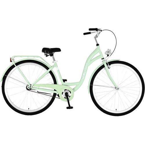Rower DAWSTAR Retro S1B Miętowy + DARMOWY TRANSPORT! + Zadbaj o siebie na wiosnę! + 5 lat gwarancji na ramę! + TANIEJ PRZED SEZONEM! Sprawdź ofertę! - produkt z kategorii- Pozostałe rowery