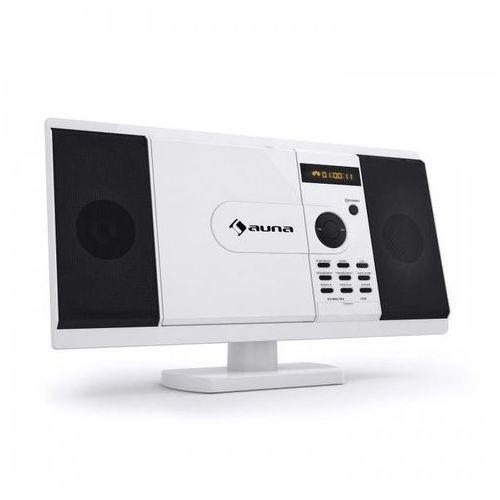 Auna Mcd-82 odtwarzacz dvd zestaw stereo usb sd biały