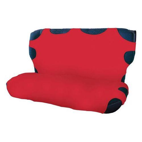 Pokrowce na tylną kanapę - czerwone (5906961220639)