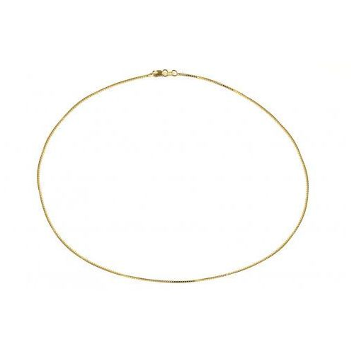 Biżuteria damska ze złota PR.585 14 Karat SAXO Łańcuszek złoty ZL.A.389.01, kolor żółty