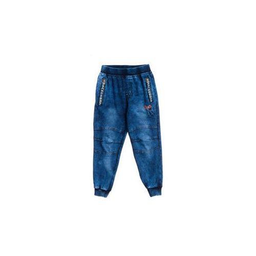 Spodnie jeansowe chłopięce granatowe denley hb1909 marki Happy house