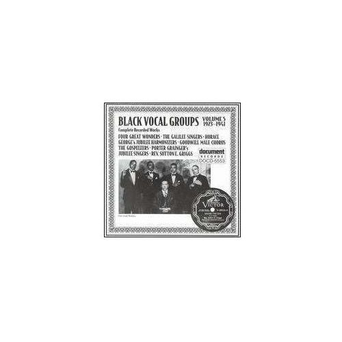 Document records Black vocal groups 5 - 24t (0714298555325)