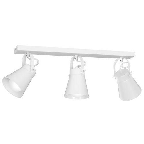 Luminex Plafon amos 8120 spot lampa sufitowa 3x60w e27 biały
