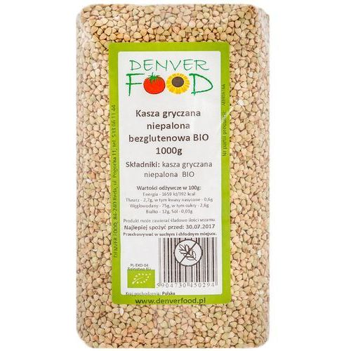 Denver food Kasza gryczana niepalona bezglutenowa bio 1 kg (5904730450294)