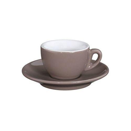 - roma - filiżanka do espresso, 50 ml, beżowa - beżowy marki Cilio