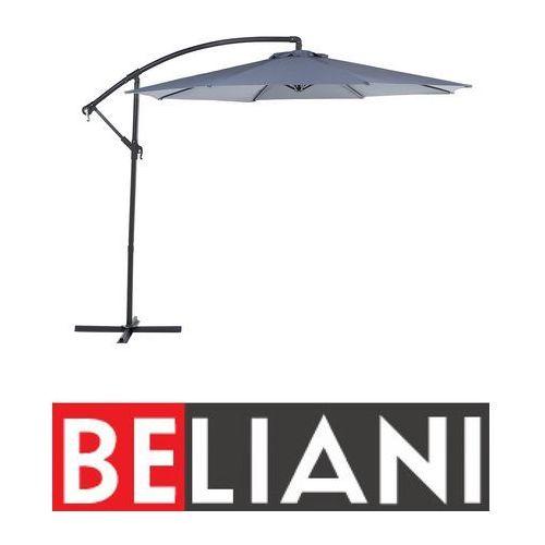 Parasol ogrodowy Ø300 cm antracytowy ravenna marki Beliani