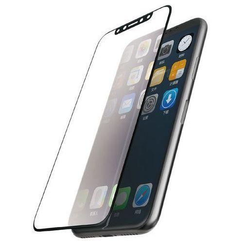 revel clear szkło hartowane 9h na cały ekran iphone xs / x (czarna ramka) marki X-doria