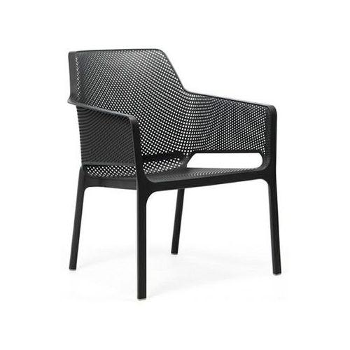 Krzesło Net Relax grafitowe, kolor szary
