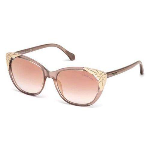 Roberto cavalli Okulary słoneczne rc 1034 castagneto 74u