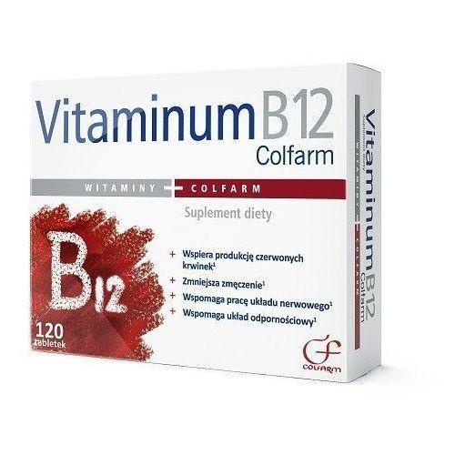 Tabletki VITAMINUM B12 Colfarm x 120 tabletek