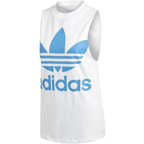 Koszulka na ramiączkach adidas Trefoil DH3180, bawełna