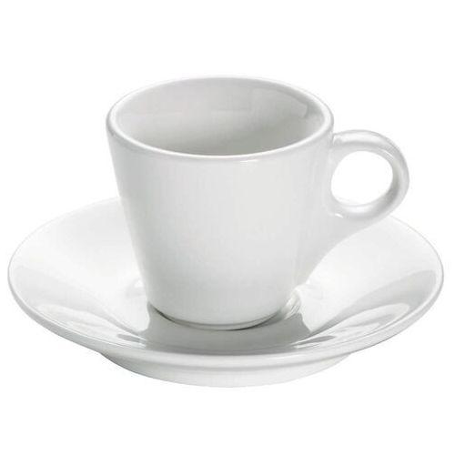 Maxwell & Williams - Basics Round - Filiżanka do espresso ze spodkiem, 75 ml