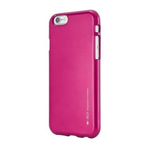 Etui Mercury iJELLY do iPhone 5S/5SE różowe Odbiór osobisty w ponad 40 miastach lub kurier 24h, kolor różowy