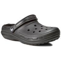 Klapki - classic lined clog 203591 black/black marki Crocs