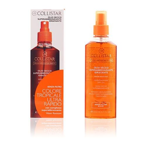 Collistar Sun No Protection olejek do opalania baz filtra ochronnego (Supertanning Dry Oil) 200 ml
