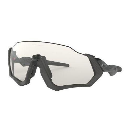 Okulary flight jacket steel/black ink clear black iridium photochromic oo9401-0737 marki Oakley