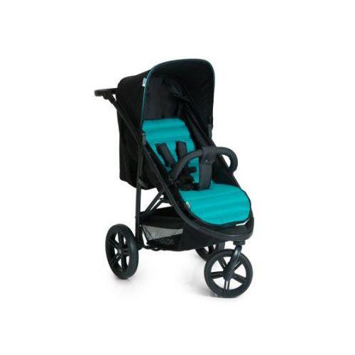 hauck Wózek spacerowy Rapid 3 Caviar/Turquoise (4007923148518). Najniższe ceny, najlepsze promocje w sklepach, opinie.
